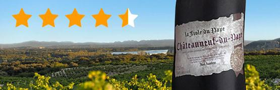 The highest rated wine in 2018