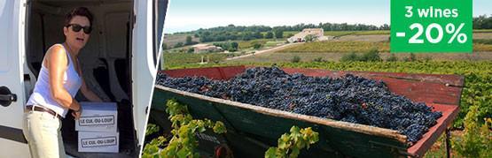 Martine's authentic wines