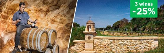 A wine matured in barrels,  80 meters underground!