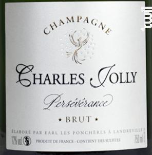 Brut Persévérance - Champagne Charles Jolly - No vintage - Effervescent