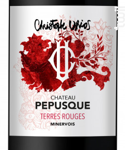 Terres Rouges - Château Pepusque - 2018 - Rouge