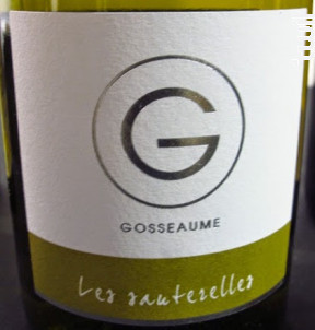 Domaine Lionel Gosseaume Les Sauterelles 2018 Touraine white wine Sauvignon  blanc Vallée De La Loire