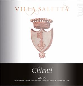 Chianti - Villa Saletta - 2015 - Rouge