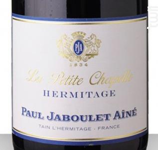 La Petite Chapelle - Paul Jaboulet Aîné - 2012 - Rouge