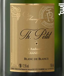 Blanc de Blancs Grand Cru - Brut - Champagne Th. Petit - No vintage - Effervescent