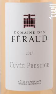 Cuvée Prestige - Domaine des Féraud - 2017 - Rosé