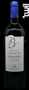 Château Gaillou - Vignobles Bedrenne - 2016 - Rouge