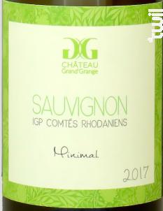 Minimal - Château Grand'Grange - 2017 - Blanc