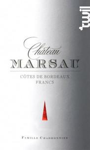 Château Marsau - Château Marsau - 2011 - Rouge
