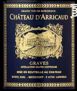 Réserve du Comte - Château d'Arricaud - 2016 - Rouge