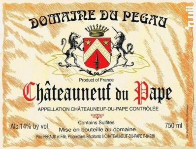 Cuvée réservée - Domaine Du Pegau - 2017 - Rouge