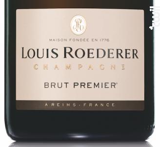 Brut Premier - Champagne Louis Roederer - No vintage - Effervescent