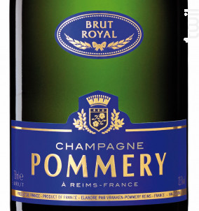 Brut Royal - Champagne Pommery - No vintage - Effervescent