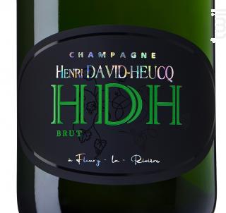 Brut Réserve - Champagne Henri David-Heucq - No vintage - Effervescent