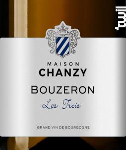 Bouzeron • Les Trois - Maison Chanzy - 2017 - Blanc
