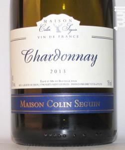 Maison Colin Seguin Chardonnay Excellence 8 white wine Chardonnay  Bourgogne