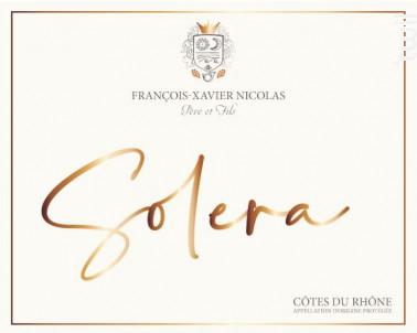 Solera - Maison François-Xavier Nicolas - No vintage - Rouge