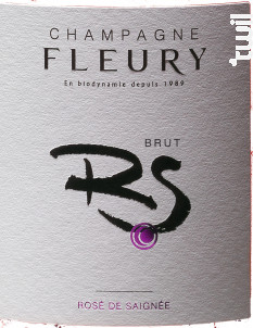Rosé de Saignée Brut - Champagne Fleury - No vintage - Effervescent