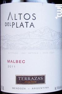 Terrazas De Los Andes Altos Del Plata Malbec 2014 Mendoza