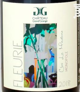 Clos de la Madone - Monopole - Château Grand'Grange - 2018 - Rouge