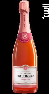 Prestige Rosé Brut - Champagne Taittinger - No vintage - Effervescent