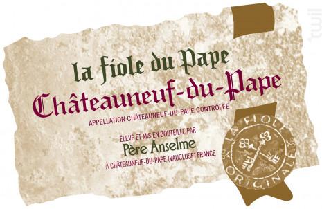 La Fiole du Pape - Maison Brotte - La Fiole - No vintage - Rouge