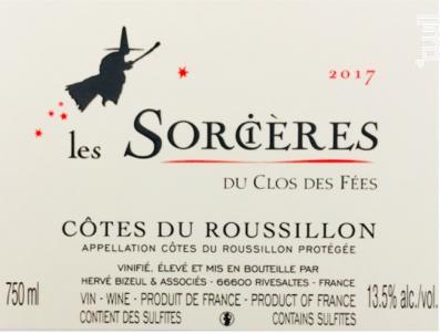 Les Sorcières - Hervé Bizeul - Le Clos des Fées - 2018 - Rouge