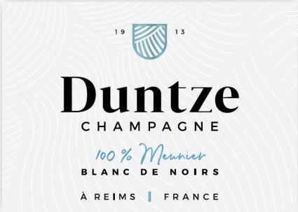 100% Meunier - Champagne Duntze - No vintage - Effervescent