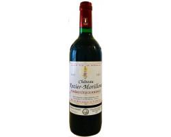 Château ROZIER-MORILLONS cuvée classique 2002 - Château Rozier-Morillons - 2002 - Rouge