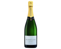 Le Tradition Premier Cru - Champagne de Saint-Gall - No vintage - Effervescent