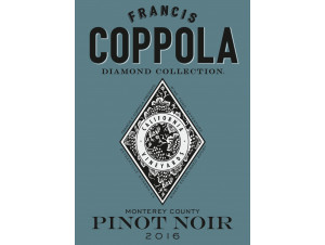 Diamond collection - pinot noir - FRANCIS FORD COPPOLA WINERY - 2016 - red