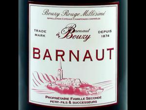 Bouzy Rouge Millésimé - Champagne Barnaut - 2004 - red